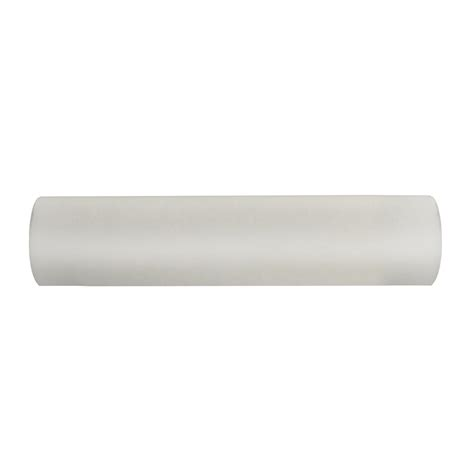 curtain rods white wood shop allen roth 96 in white wood curtain rod only at