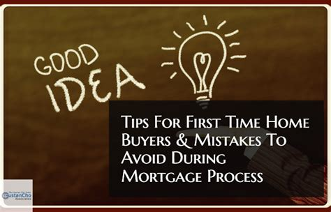 Tips For Time Home Buyers by Tips For Time Home Buyers And Mistakes To Avoid