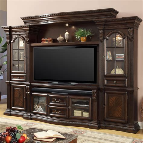 entertainment furniture house collection bel 700 4 entertainment center with 6 doors and power center