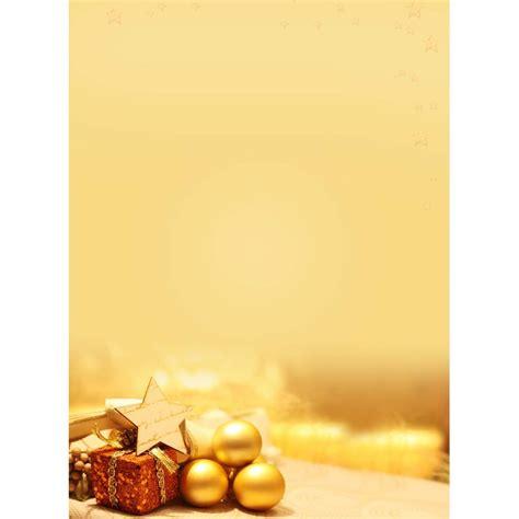 Word Vorlage Weihnachtsbrief weihnachtsbriefb 246 weihnachtspapier a4 goldene kugeln