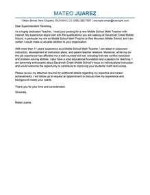 Cover Letter Sles For Teachers by Cover Letter Exles Education Cover Letters Livecareer