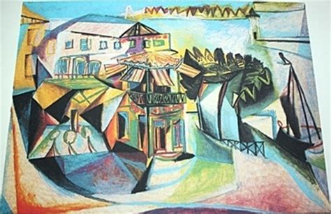 picasso paintings cafe zaidan gallery
