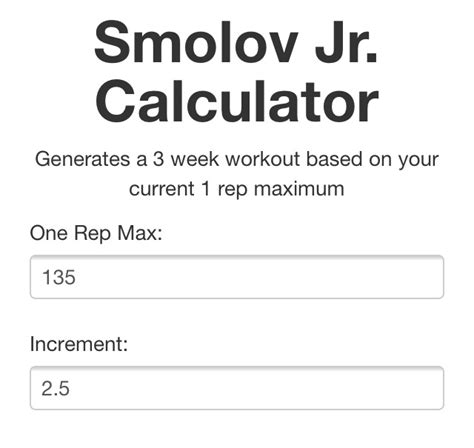 smolov jr bench calculator littleliam s natty powerlifting journal page 68