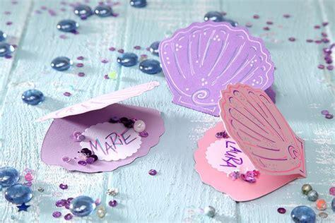 Bild Selber Machen 5233 by Zauberhafte Tischkarten F 252 R S 252 223 E Wassernixen Umsetzung