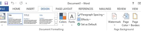 layout tab word 2013 how to add watermarks in microsoft word 2013 2017 2016 2010