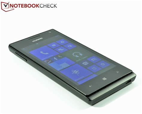 Huawei W1 test huawei ascend w1 smartphone notebookcheck tests