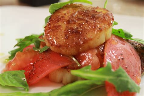 seared scallops fromayoungchef