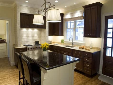 sweet designs kitchen white brick backsplash with dark cabinets nrtradiant com