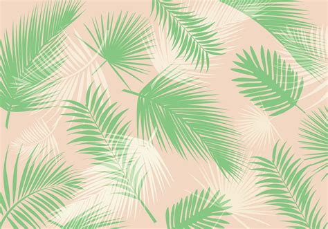 Palm Leaf Pattern Vector | palm leaf pattern vector download free vector art stock