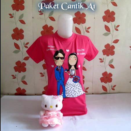 Paket Cantik 1 paket cantik a1 hello pake bunga pink jual baju