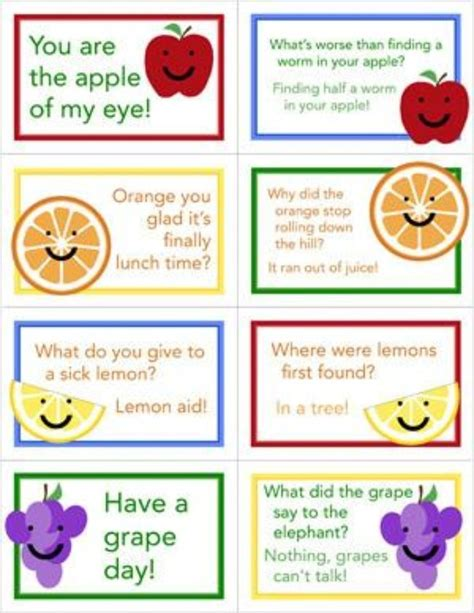 printable lunchbox notes printable lunch box love notes hailey pinterest