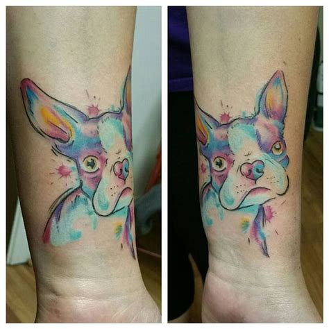 watercolor tattoo artists near boston best 25 boston terrier ideas on