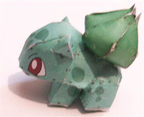Bulbasaur Papercraft - bulbasaur papercraft by papercraftninjaman on deviantart