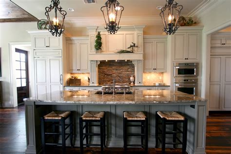 Lights Over Kitchen Island Family Room Contemporary With