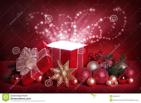 Gift Opening - open magic gift box stock image image of open happy