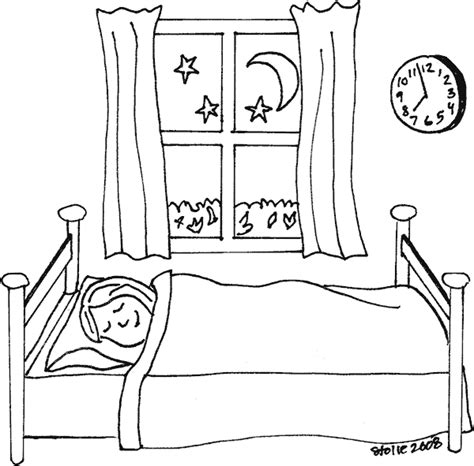 sleeping coloring sleeping coloring page coloring