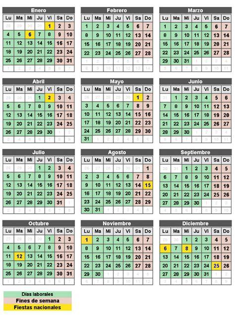Calendario Abril 2010 Festivos 2010