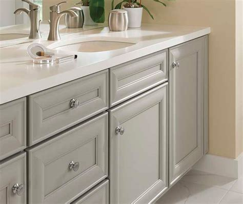Grey Bathroom Cabinets by Gray Cabinets In Casual Bathroom Cabinetry