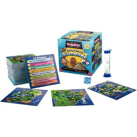 Asmodee Jeux De Societe De Voyage asmodee jeu de soci 233 t 233 brainbox voyage autour du monde asmodee jeux de soci 233 t 233 sur
