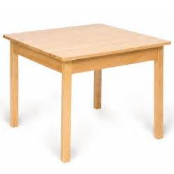 Wood Table Bigjigs Childs Wooden Table