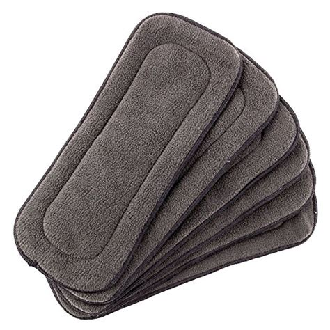 Clodi Babyland Bamboo 2 Insert Bambo 2 In 1 Poket Dan Cover 1 five layer charcoal bamboo cloth inserts 12 pack baby toddler diapering liners