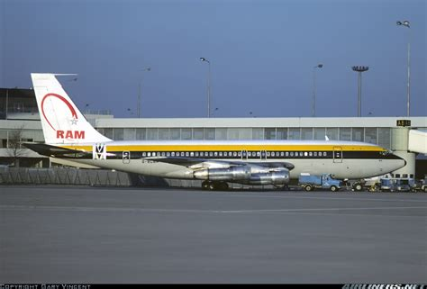 ram airlines boeing 720 023b royal air maroc ram monarch airlines