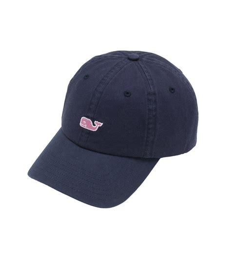 Logo Baseball Hat shop signature whale logo baseball hat at vineyard vines