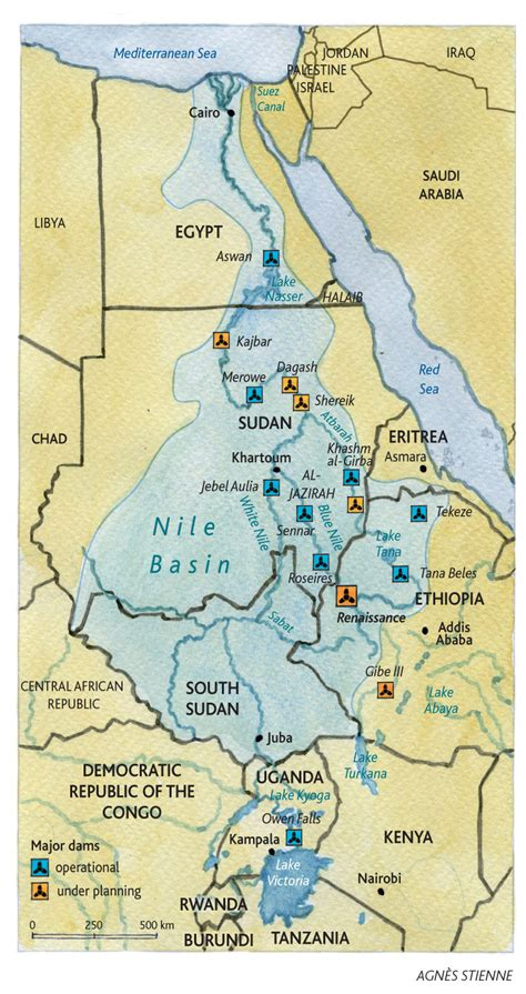 middle east map nile river map of nile basin countries search nile river
