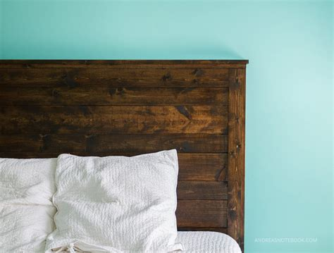 how to make a rustic headboard how to make a diy rustic headboard