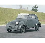 Citro&235n 2CV Prototype 1939  Old Concept Cars
