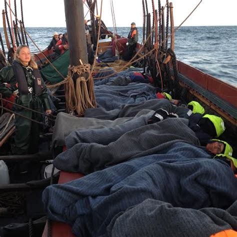 fishing boat sleeping quarters let s go a viking sailing on the sea stallion of
