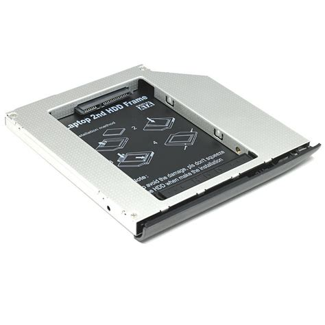 Promo Hdd Caddy 9 5mm sata 2nd drive hdd caddy adapter 9 5mm with bezel for hp compaq elitebook 2530p 2540p 2560p