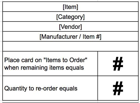 kanban reorder card template inventory management through kanban aaron clark medium