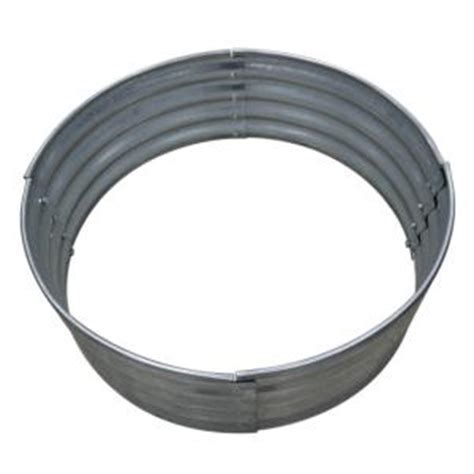 Home Depot Pit Ring 36 in galvanized ring 97869vgdhd the home depot
