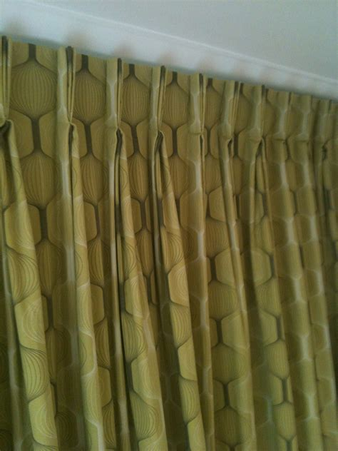single pleat drapery contemporary triple pleat curtains