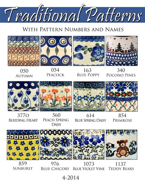 pattern companies polish pottery on pinterest bowls polish and cake stands