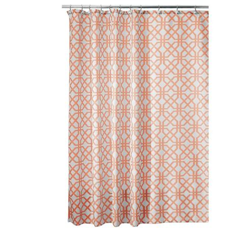 designer shower curtains fabric 2016 new inter design trellis fabric shower curtain 72 in