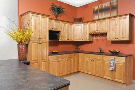 kitchen paint colors for oak cabinets the interior