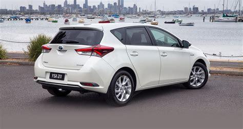 Toyota Corolla Images 2016 Toyota Corolla Hybrid Hatch Confirmed For Australia