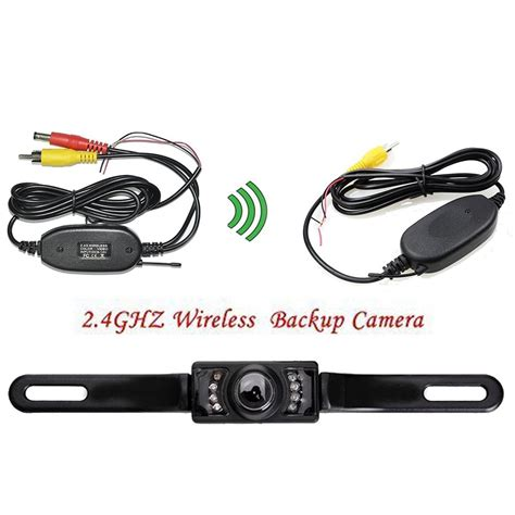backup for car eincar wireless car rear license mount review