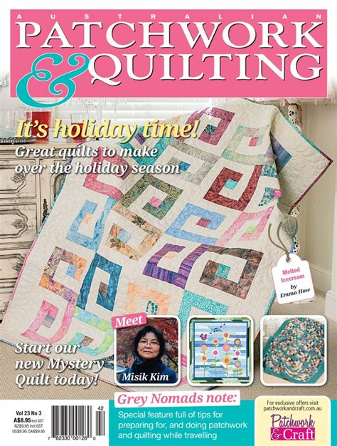 Australian Patchwork And Quilting Magazine - pin by patchwork craft magazines on australian patchwork