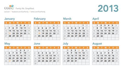 calendario 2013 printable calendar calendario vertex42 new calendar template site