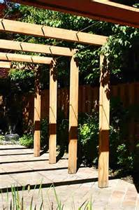 Easy Pergola Plans by Simple Pergola Design Woodworking Projects Amp Plans
