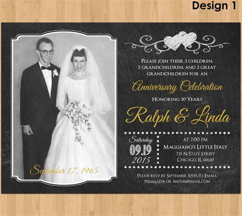printable anniversary invitations 50th anniversary invitation printable 50th wedding