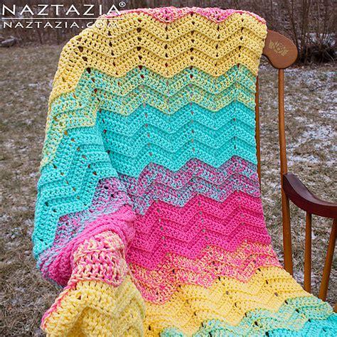 diamond zig zag afghan pattern crochet patterns galore double sweet ripple