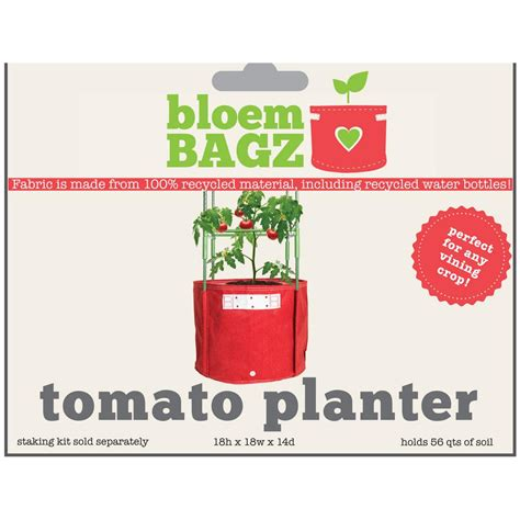 bloem 15 gal union fabric tomato planter bag tom 12