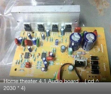 easy amplifier circuit diagram    electronics