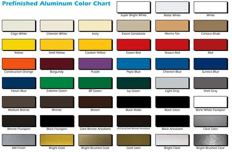 what color is aluminum the gallery for gt anodized aluminum colors
