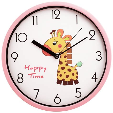 Wholesale Country Home Decor by Free Shipping 12inch Cartoon Wall Clock Child Room Decor