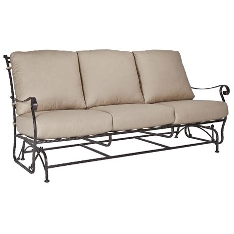 glider sofa patio furniture glider sofa master owlc151 jpg outdoor